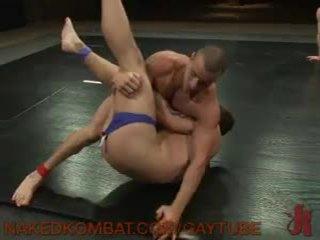 Nikko alexander vs jake austin และ cameron adams super hawt น้ำมัน match