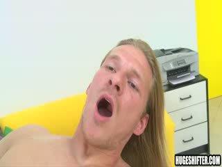 Doggystyle fucked bareback by big cock