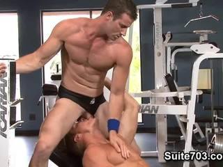 Gavin waters и rusty stevens. тренировка и майната.