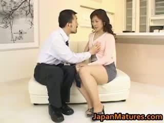 Hitomi kurosaki rijpere aziatisch chick part3