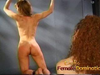 Lusty jana ties her söýgülim up and spanks her hard