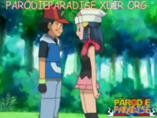 Pokemon animasi pornografi ash x dawn