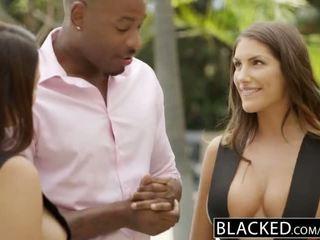 Blacked august ames un valentina nappi dalīties bbc - porno video 021