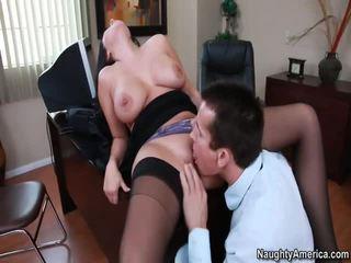 hardcore sex, pussy licking, lielas krūtis