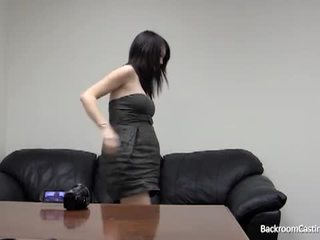 Pregnant girl ass fucked by fake casting agent