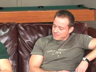 Slamming lul in zijn bips op de zitbank