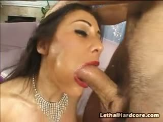This Babe Gets A Cock And Her Toy At One Time