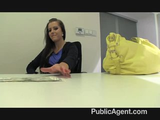 Publicagent morgan strips край и gets прецака мой а fake модел agent