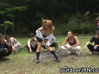 Akane hotaru me erëza aziatike model gets