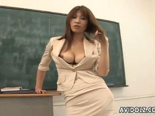 ホット ボインの ai kurosawa 汚い 教師 とともに 巨大な