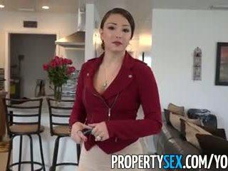Propertysex - голям дупе латино реален estate agent подмамени в аматьори секс видео