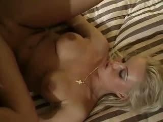금발, 더블 삽입, 섹스