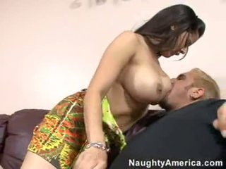 Bawdy Pleasing Diamond Kitty Takes A Hard Shaft In Her Mouth Like A Lollipop