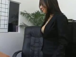 sekretärin, nylon, strumpfhose