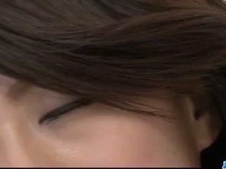 Hina Aisawa endures cocks in both her holes