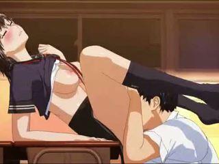 hentai, anime, schoolgirl