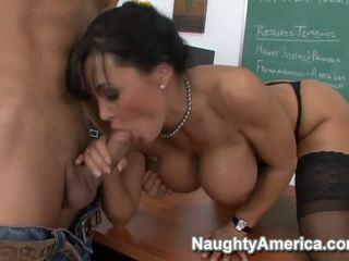 blow job, big tits, black hair