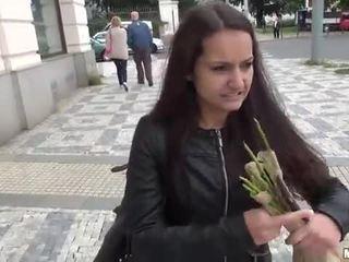 Amateur Lili Devil railed with stranger