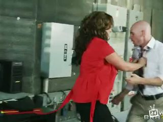 Booby with a chance of showers (Big Tits At Work)- Eva Notty & Johnny Sins