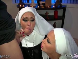 Hot Nuns Jessica Jaymes And Nikki Benz