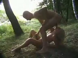 Young Jogger Violated In The Woods Video