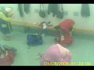 Gym locker kamer verborgen spycam