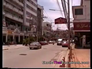Sekss virzīt līdz redlight disctrict uz thailand