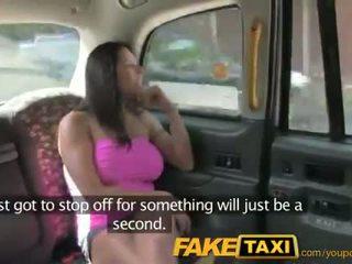 Faketaxi seksualu amerikietiškas falls už senas taxi triukas