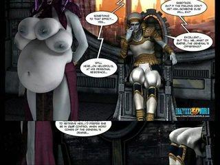 3d комичен: galacticus. chapters 8-12