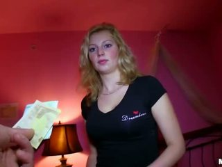 Sexy Czech girl fucked for sum of money