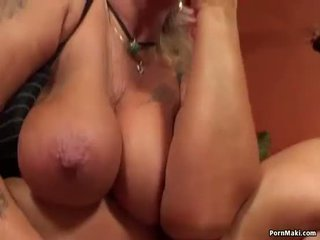 Granny having anal sex with fucking ma...