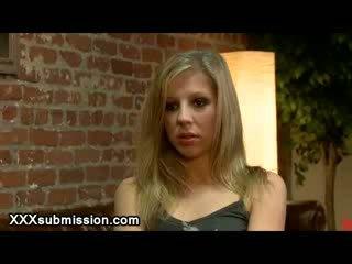 Legata blondie vibed da probation ufficiale in suo ufficio