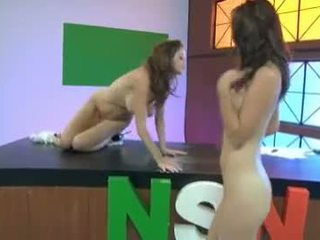 Emily Addison & Heather Vandeven Finger The Pussy