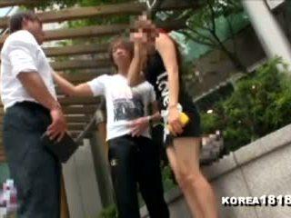 Korea1818.com - quente coreana gaja rejects japonesa homem!