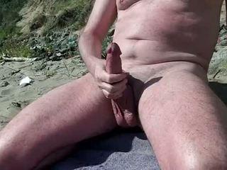 Alasti gei näitamist riist edasi the nudist rand