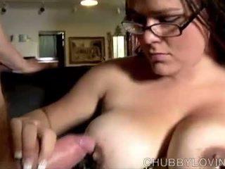 bbw, mouthful, blowjob