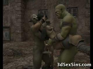 Ogres homosexual heet 3d babes!