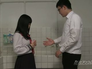 student, japanse, pijpbeurt