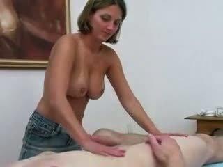 Massage parlor wrijven en tug