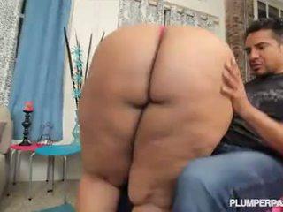 Krūtainas 46mm melnas lielas skaistas sievietes cotton candi