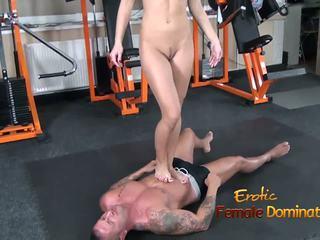 foot fetish, masturbation, femdom