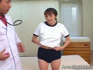 Seksi kuliste islak gömlek tıbbi onu doktors