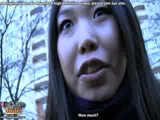Eksotiskas aziāti lelle uz realitāte porno