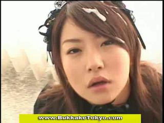 Aziatisch en japans bukkake