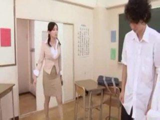 Caliente japonesa profesora
