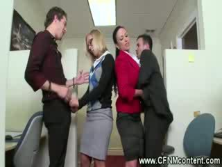 CFNM office ladies want it all
