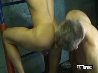Muscle Dad Fucks Buddie
