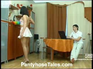 Gwendolen und adam pantyhosing auf film aktivität