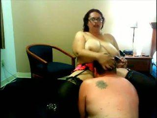 Ošklivý tuk děvka webkamera