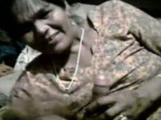 Reusachtig boezem punjabi aunty